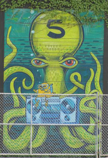 Street Art at Sudbury St Railway