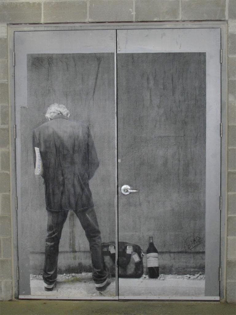 Street Art north of 99 Sudbury