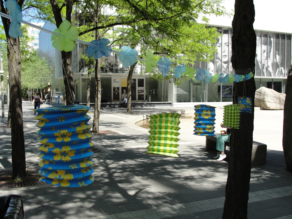 Paper Lanterns in Devonian Square