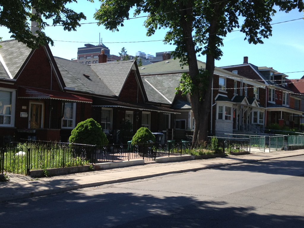 Houses in Kensington Market