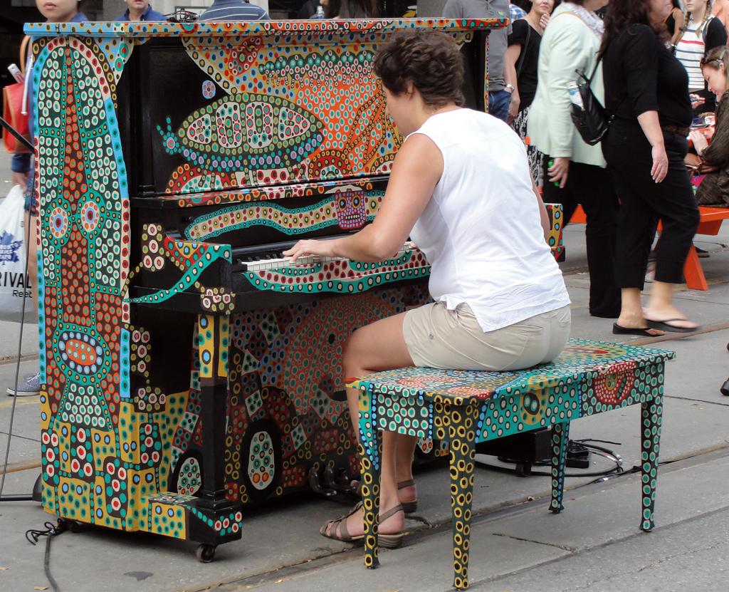 Festival Street Piano