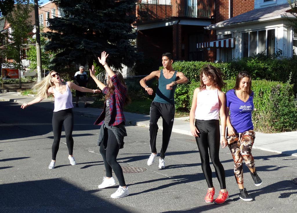 local business promoting dance studio