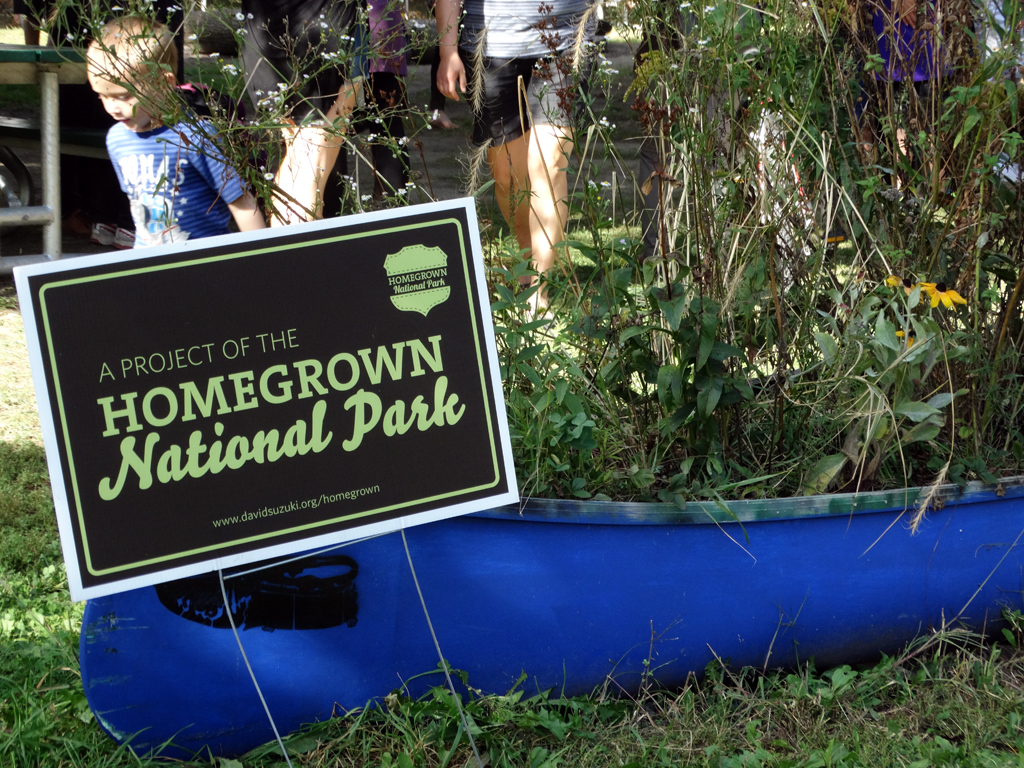 Homegrown National Park Project